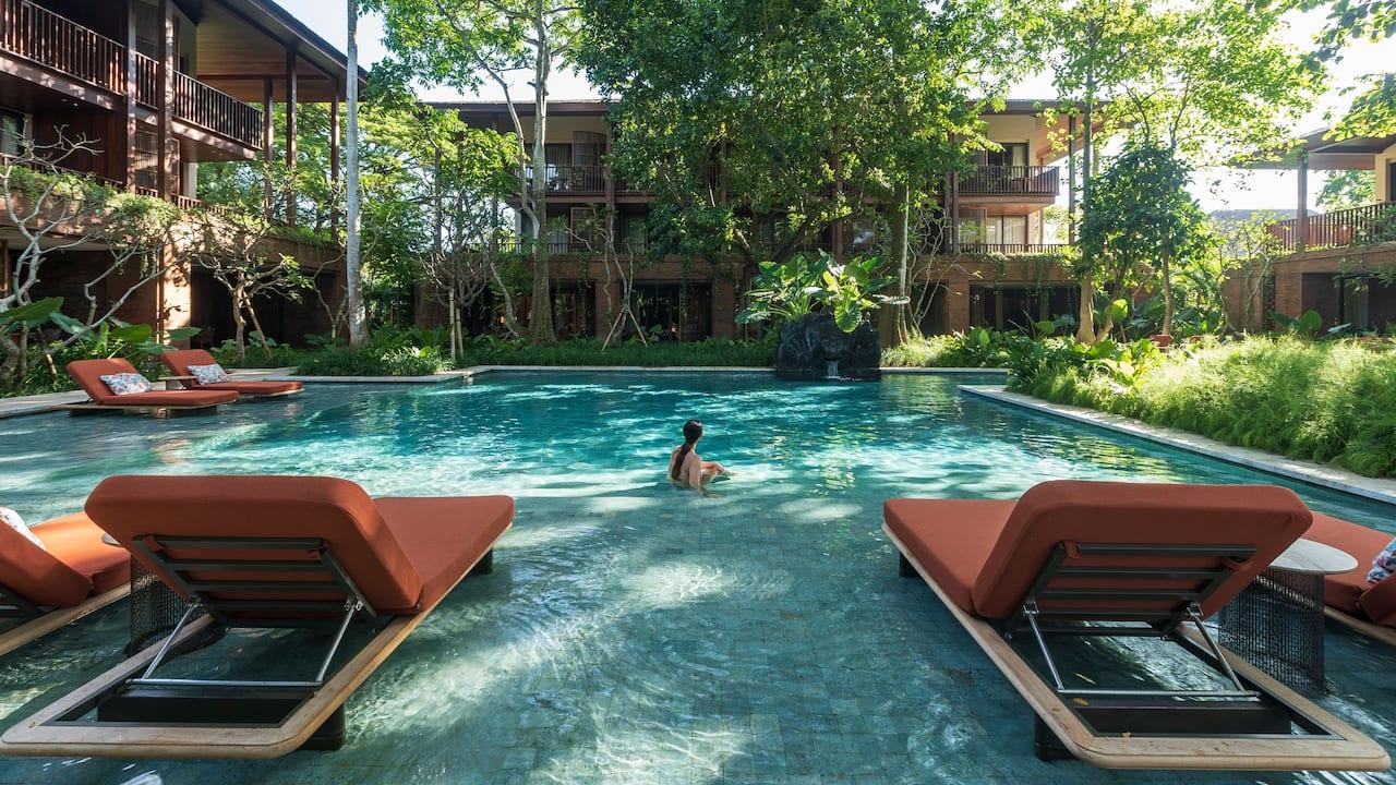 Santhi Pool at Andaz Bali, Sanur