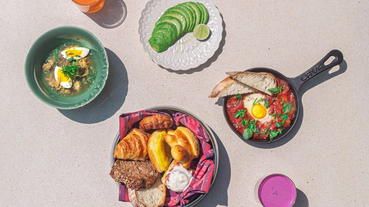 Breakfast Food Menu Hyatt Restaurants - Wok Wok Restaurant by Andaz Bali