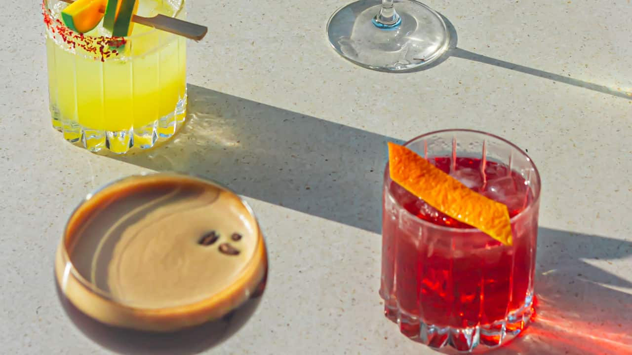 Cocktails at Andaz Bali