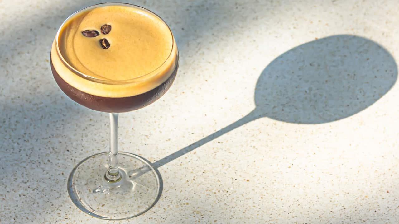 Kintamani Coffee Martini at Fisherman's Club