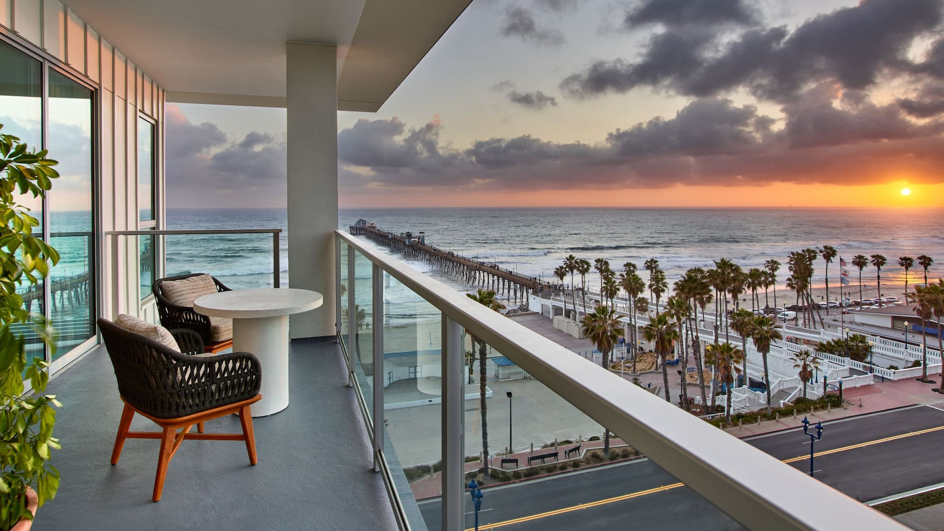 Ethereal Suite Balcony