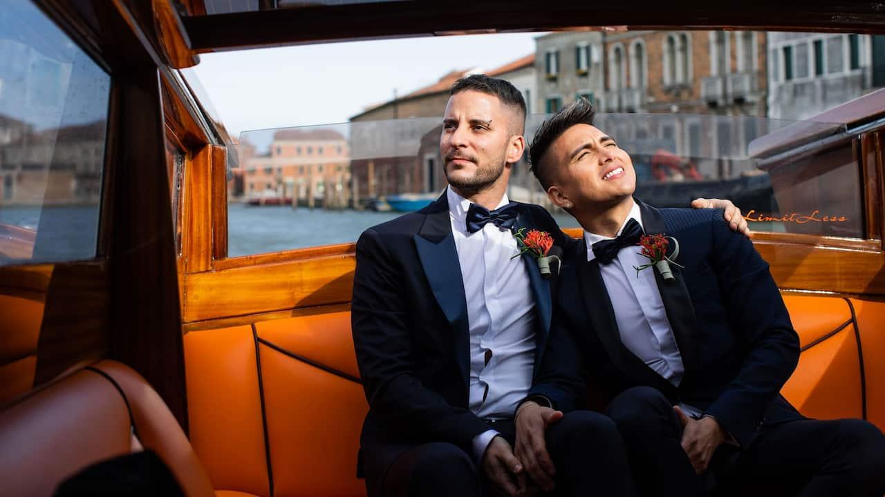 Hyatt Centric Murano Venice Gay Wedding Boat Trip