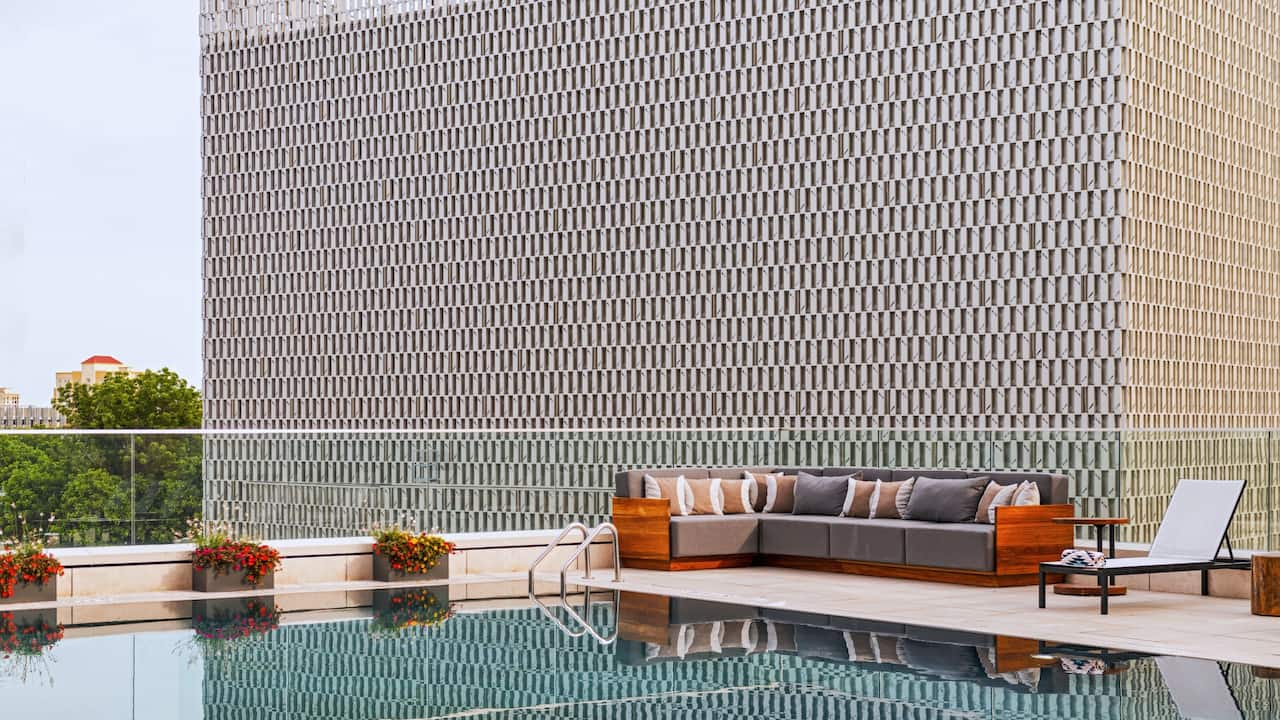 Cenote Pool Lounge