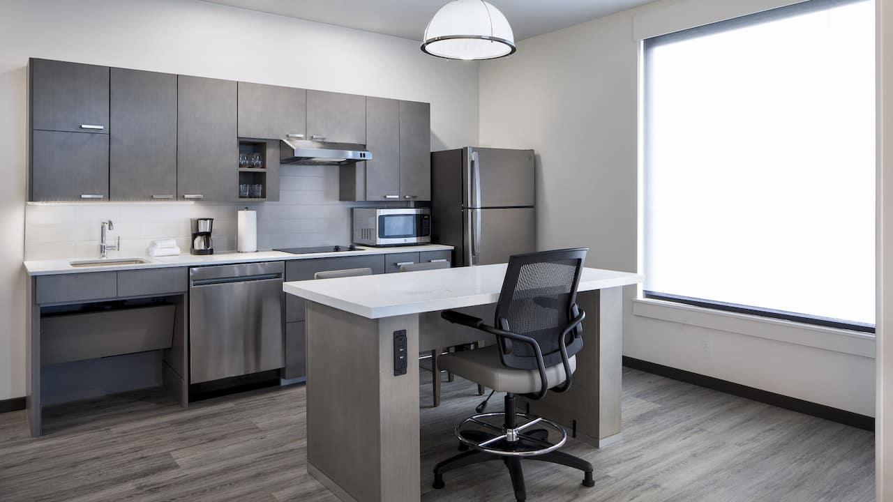 One Bedroom ADA Kitchen