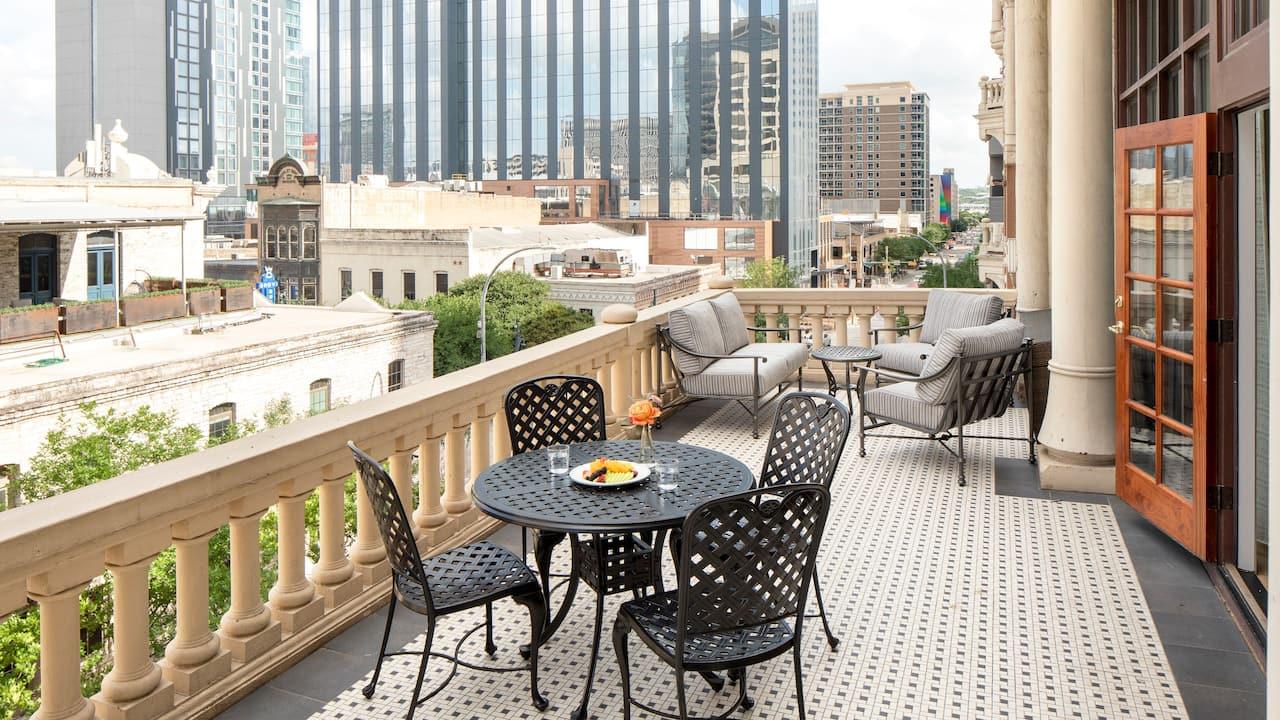 Brazos Suite Balcony