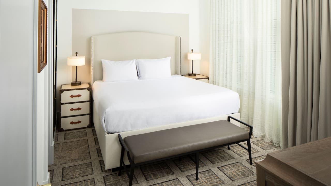Junior Suite King Bedroom