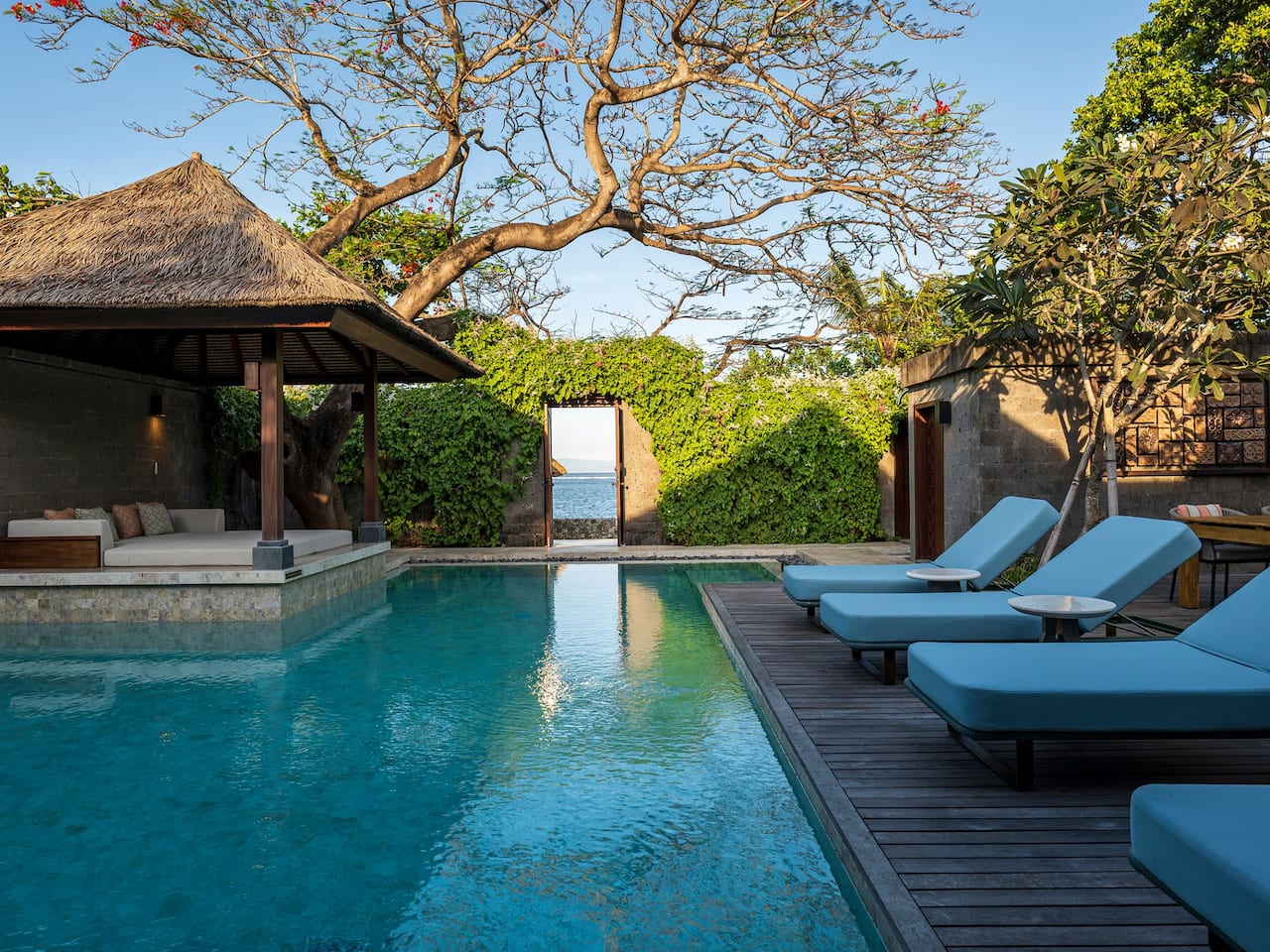 View from Beach Villa at Andaz Bali, Sanur