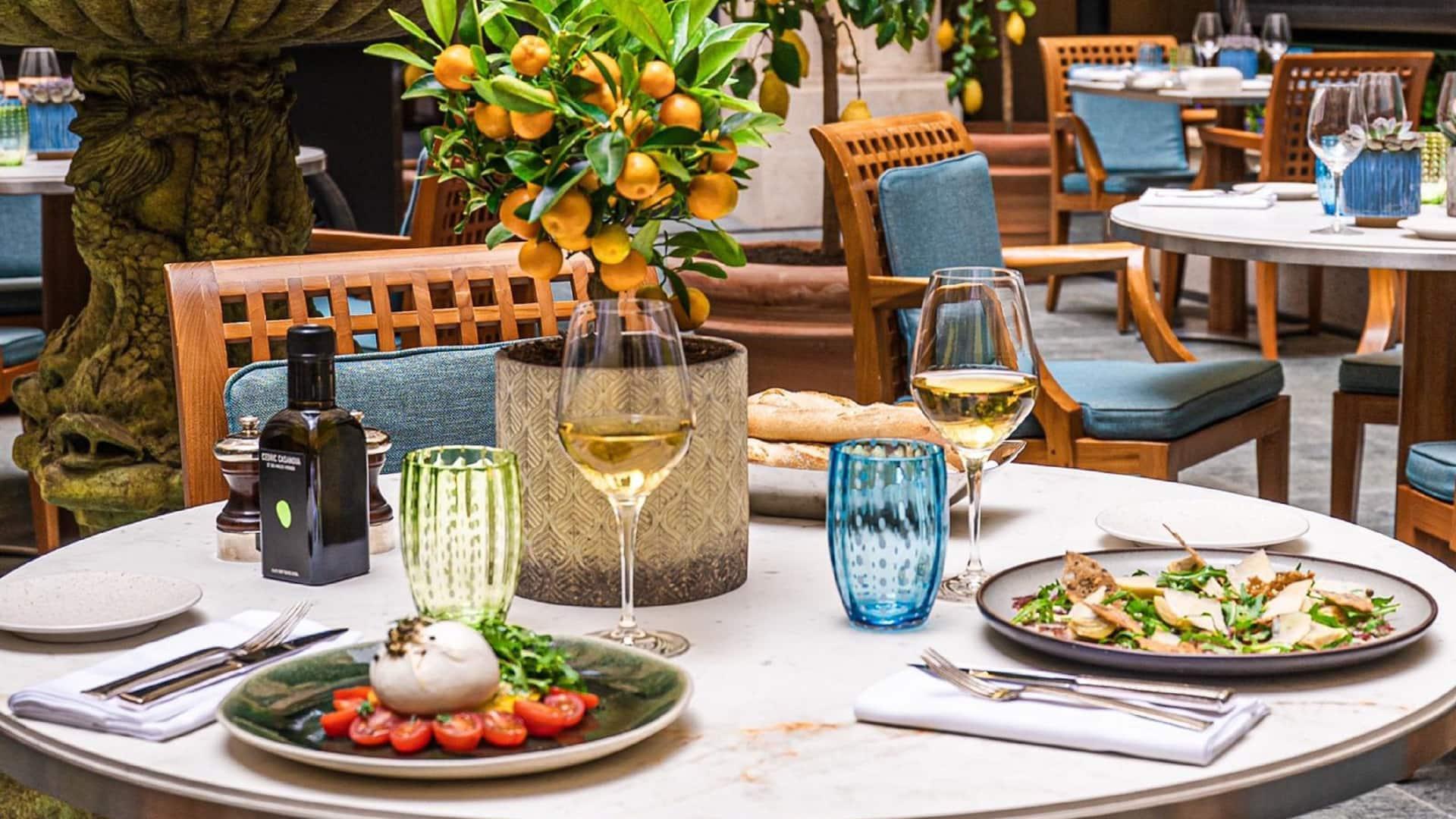 La Terrasse - Park Hyatt Paris - Vendôme Cuisine Italienne au coeur de Paris