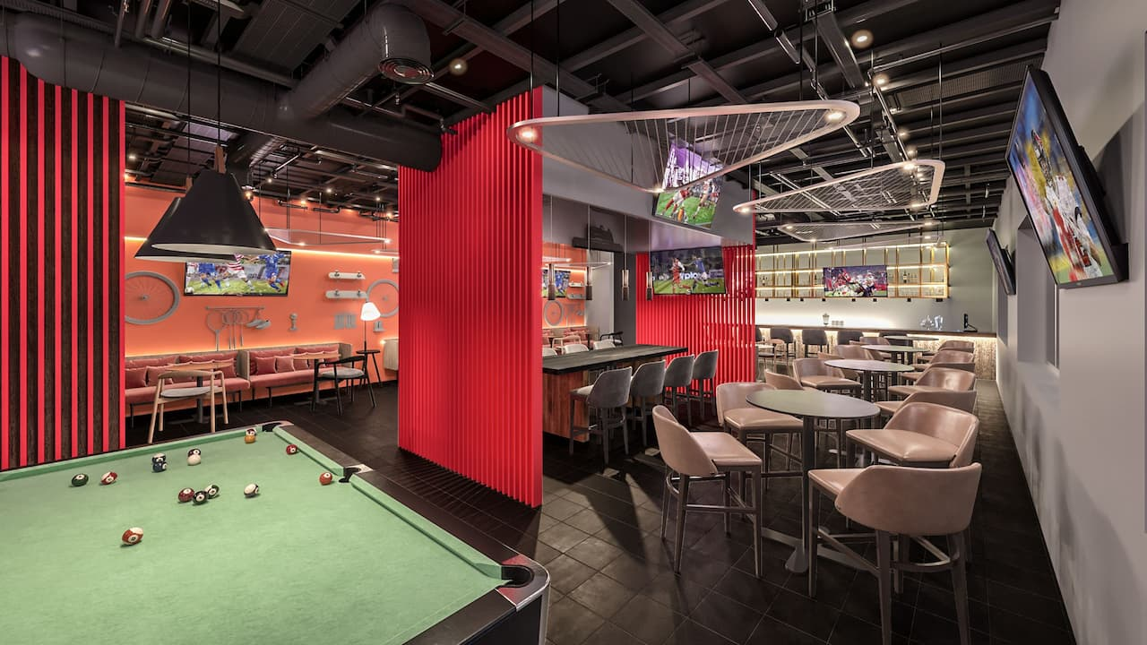 Off Court Sports Bar Seating