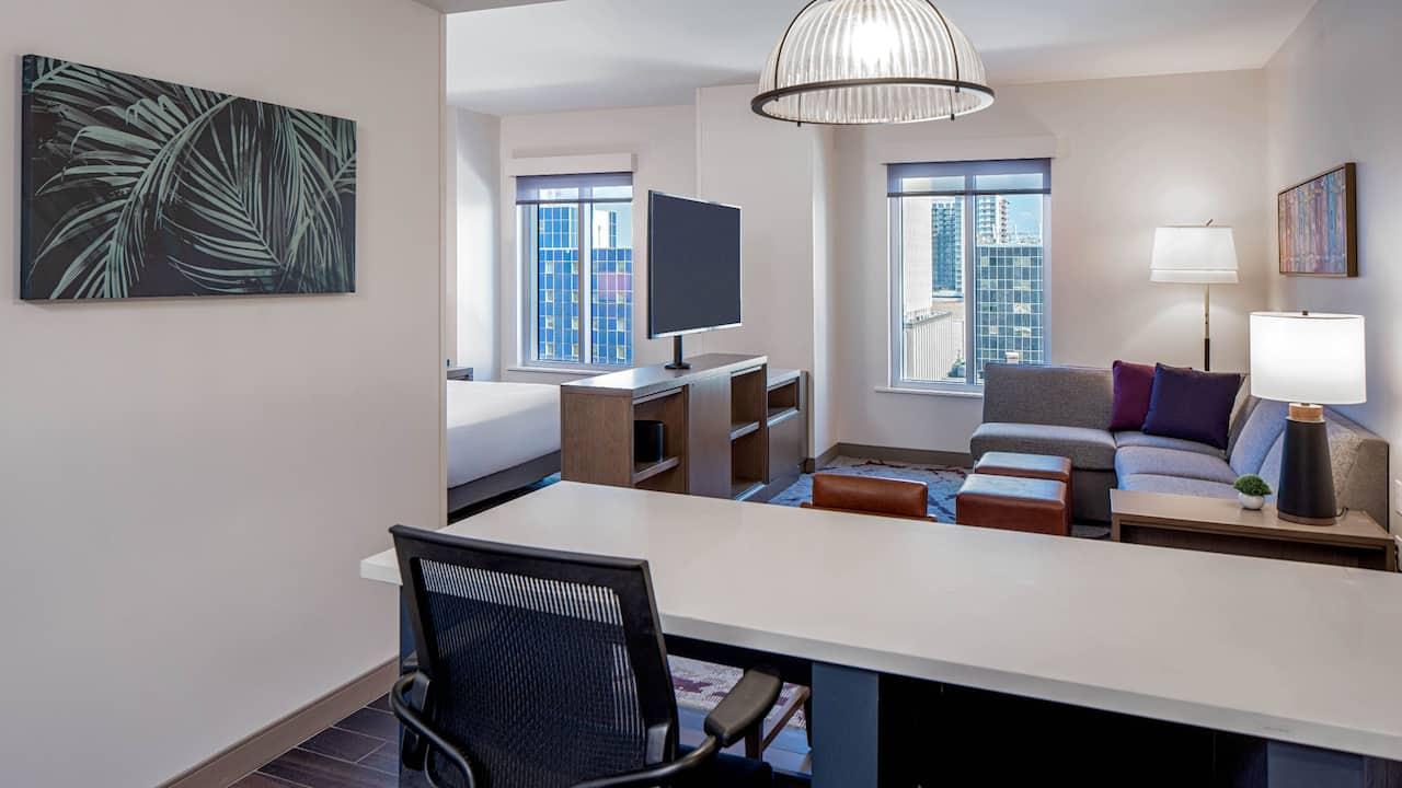 ADA Studio Suite Living