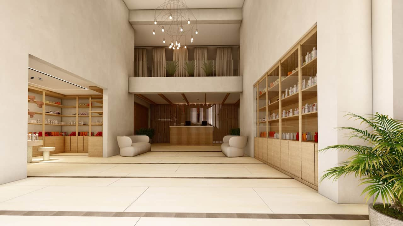 Zen Spa Lobby