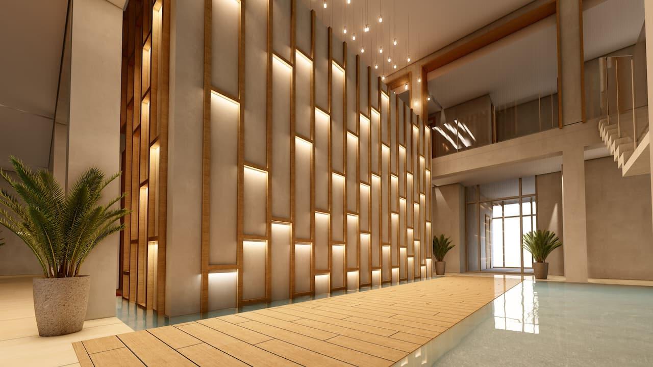 Zen Spa Stairway