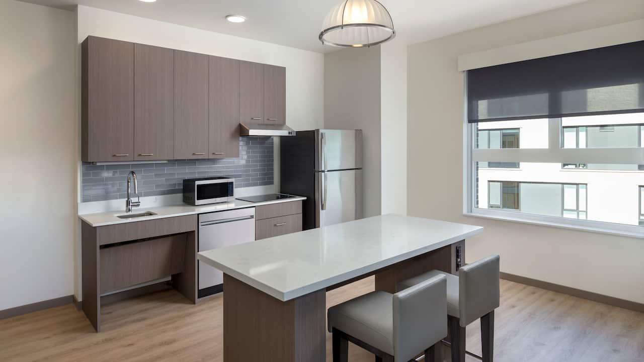 Accessible One Bedroom Suite Kitchen