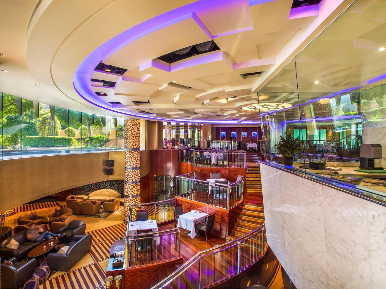 Park Hyatt Melbourne Radii Bar Sofa