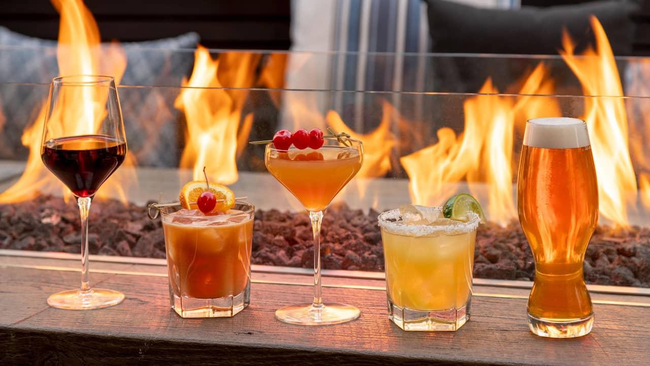 Cocktails Firepit