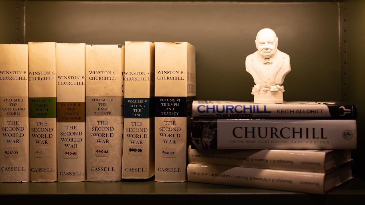 The Library at Hyatt Regency London The Churchill