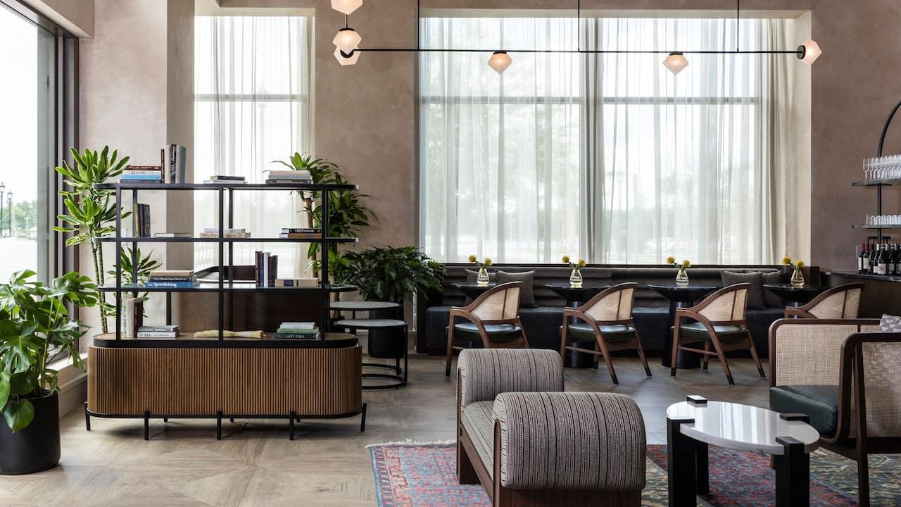Lobby Bar Seating View