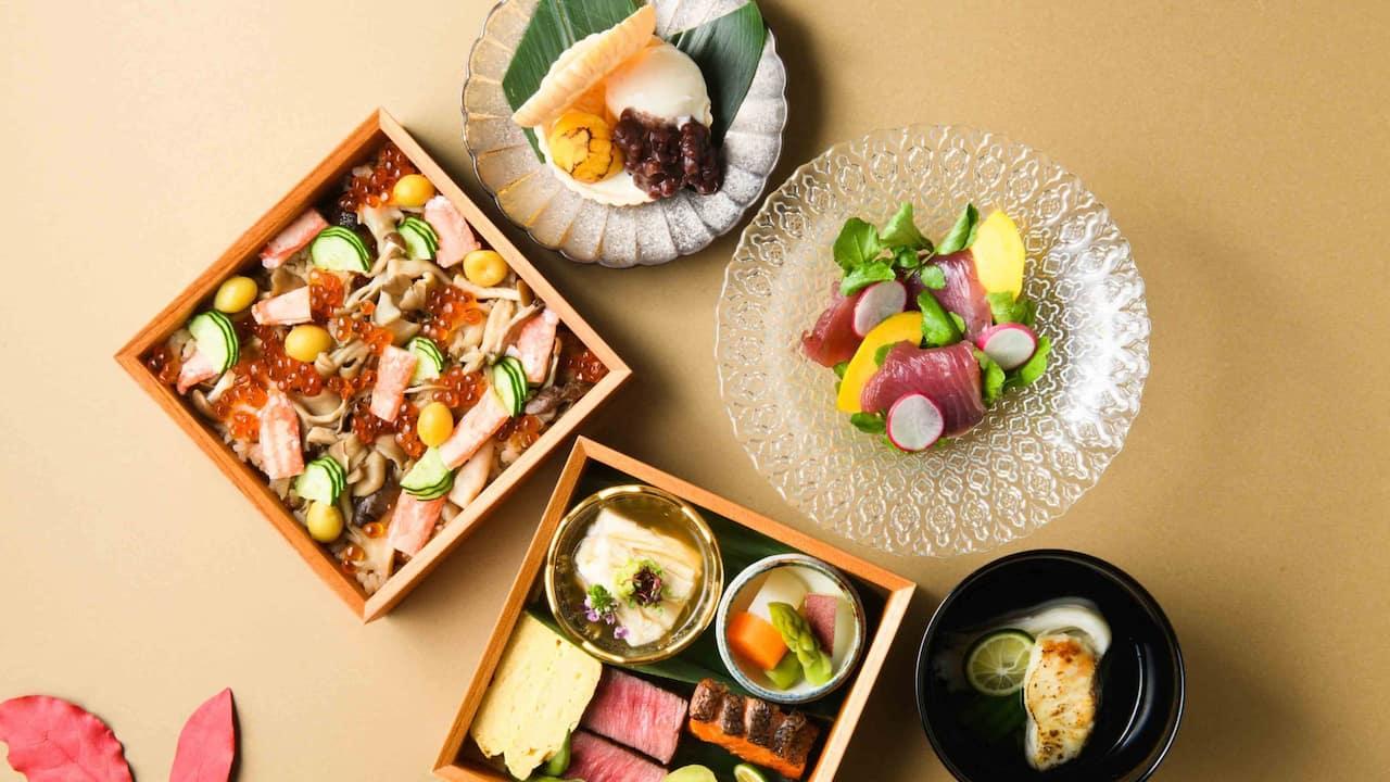 Hyatt Regency Hakone Resort & Spa| Dining Room Autumn Lunch Box