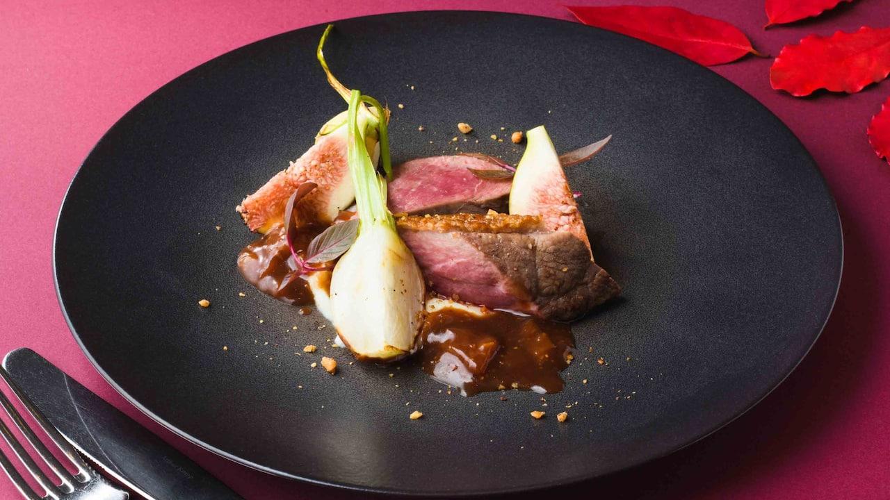 Hyatt Regency Hakone Resort & Spa| Dining Room Cuisine Duck