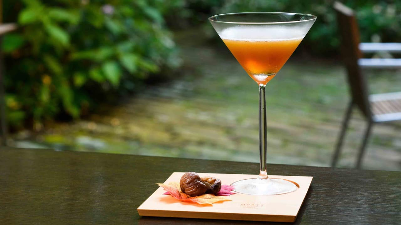 Hyatt Regency Hakone Resort & Spa| Living Room Harvest Brown Cocktail