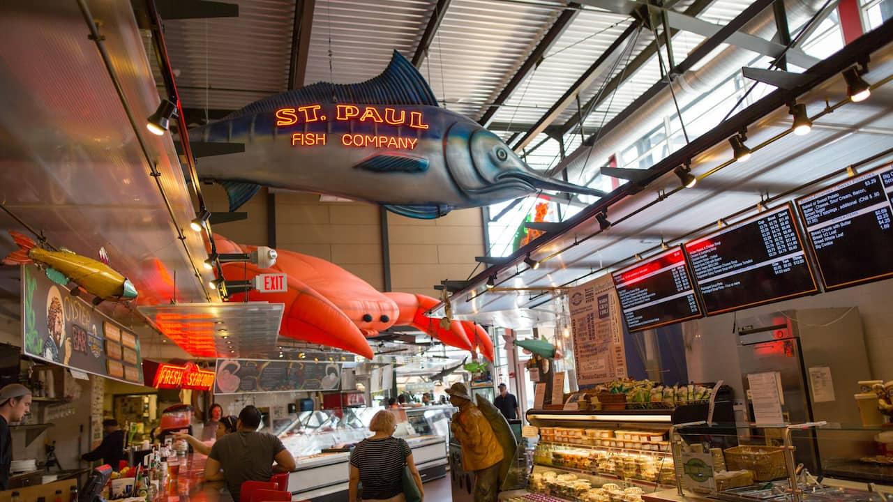 Public market in Milwaukee