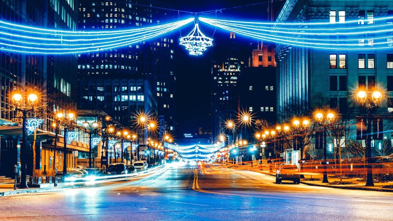 Skyline Avenue near Hyatt Regency Milwaukee