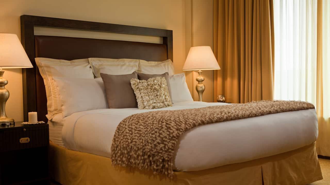 Hyatt Regency Bed