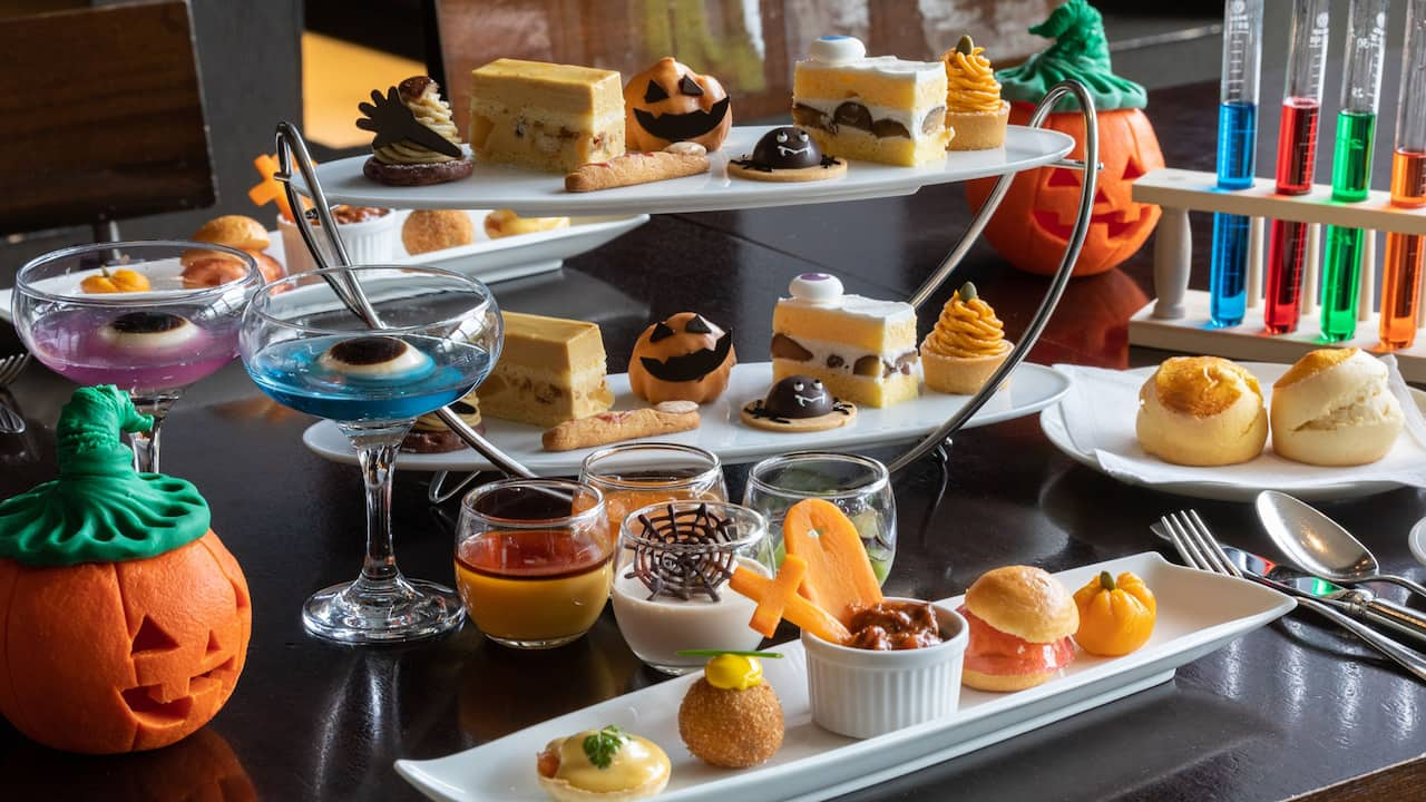 In-room Halloween Afternoon Tea (Day-use)