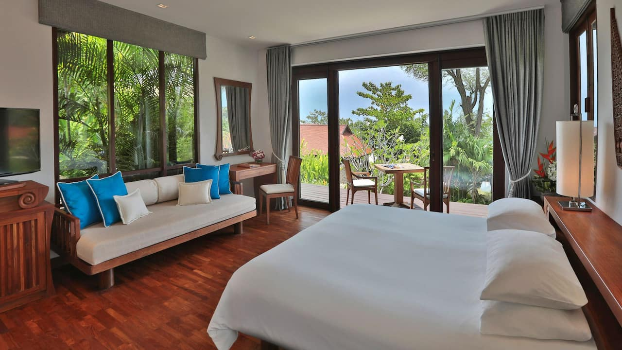 Pavilion Suite 2 Bedrooms with Garden View