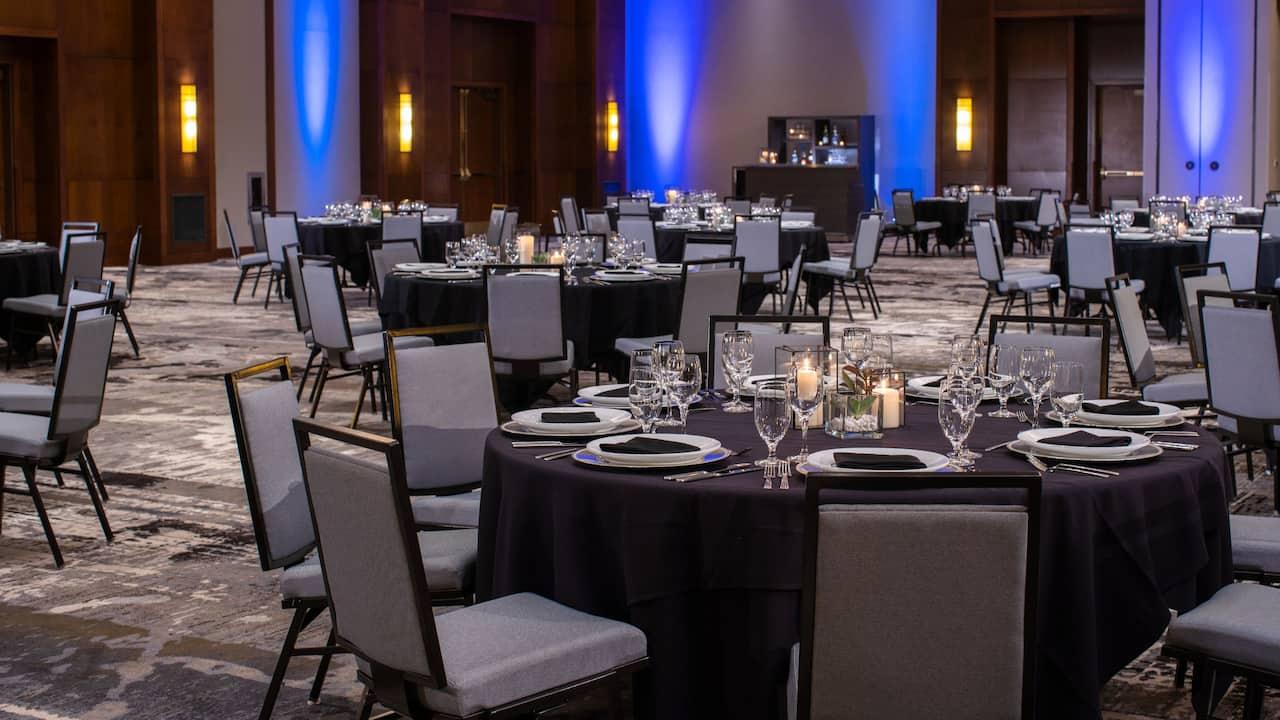 Oakdale Standard Social Dinner Setup