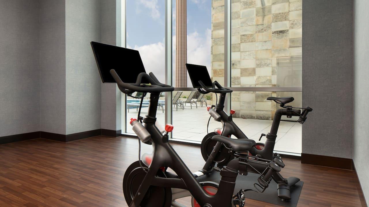 Fitness Center Bike