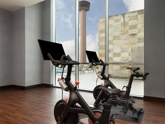 Fitness Center Grand Hyatt San Antonio