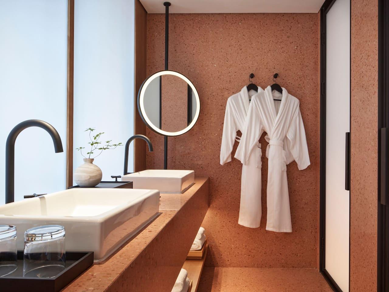 Two Queen Beds Bathroom