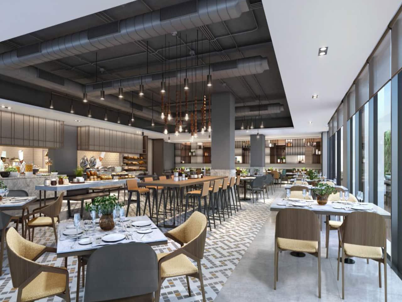 Hyatt Place Vadodara Restaurant