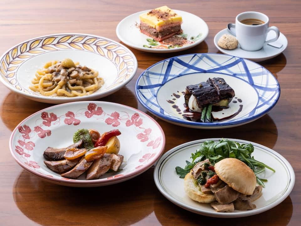 Central Italy set menu - Hyatt Regency Kyoto