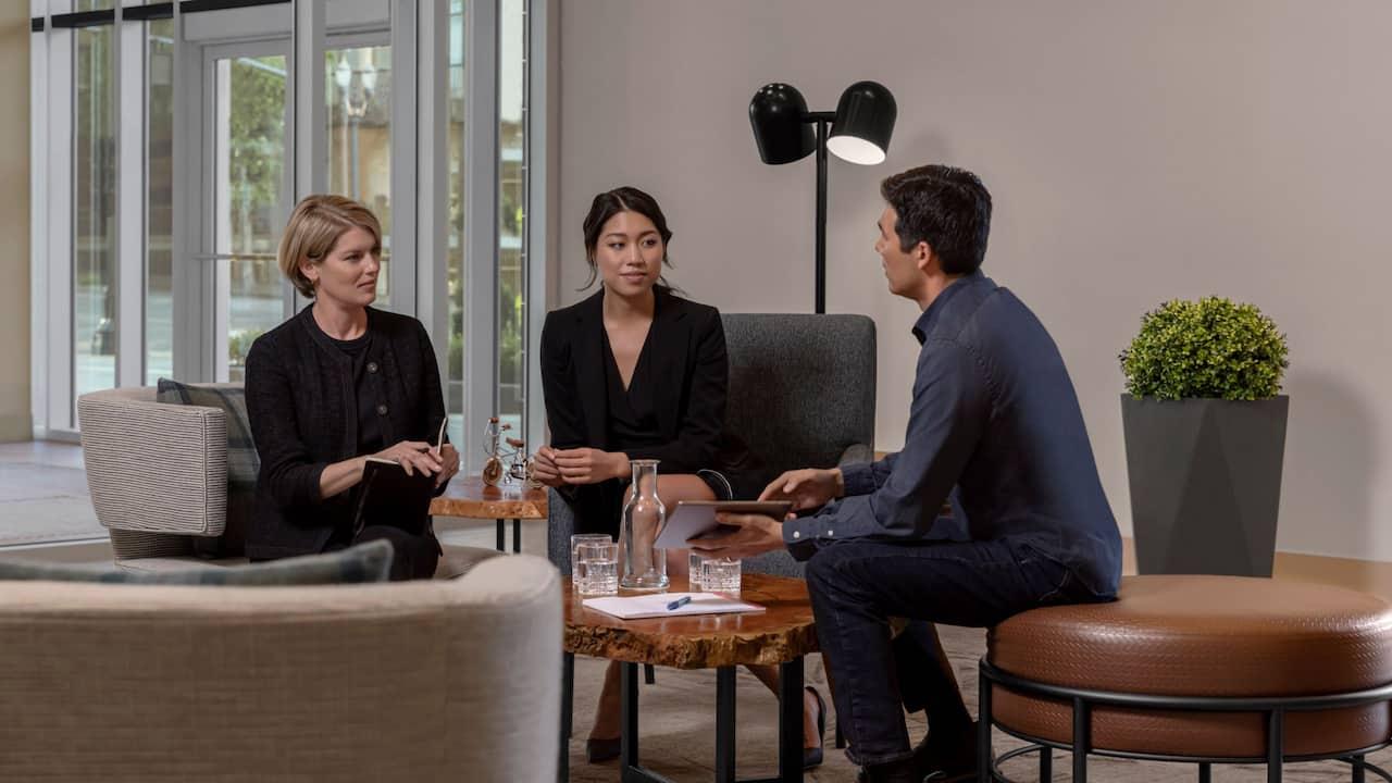 Lobby Meeting