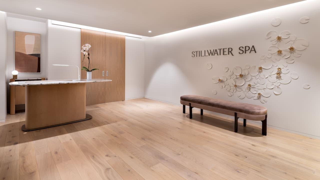 Stillwater Spa Reception